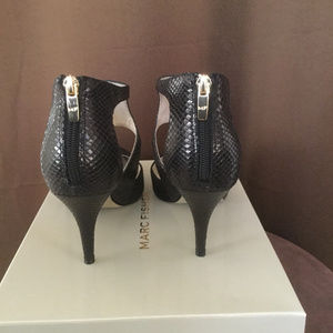 Marc Fisher Shoes - Marc Fisher Snake Print Heels